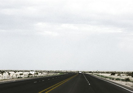 Lonely West Texas Highway